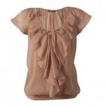 Votre Mode Bluza broderie punctata + maiou femei VOTRE MODE