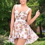 Escape Star Jeans Rochie casual eleganta cu imprimeu floral