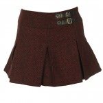 Pull and Bear Fusta Pull and Bear Jaquelline Dark Red