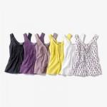 3 Suisses Collection Bluza fara maneci plastron plisata femei masuri de la 34 la 52