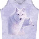 Mountain Life Maieu Dama White Wolves