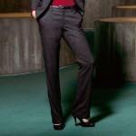 3 Suisses Collection Pantaloni tweed lung. int. 82 cm marimi de la 36 la 52.